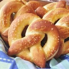These warm and buttery, homemade soft pretzels can be topped with sea salt for a savory snack or cinnamon and sugar for a sweet treat.