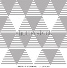 Abstract background. Modern seamless pattern with triangles. Vector illustration by Iliveinoctober, via ShutterStock