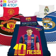 #Official #football soccer club team fans duvet set bed cover #bedding quilt pill,  View more on the LINK: 	http://www.zeppy.io/product/gb/2/181596889171/