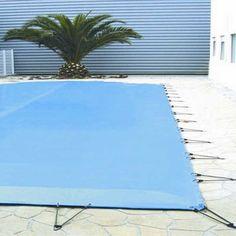 Bâche d'hiver de 580g/m2 pour piscine rectangulaire 8x4 m - Piscine-International