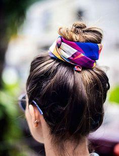 45 charmante Bandana Frisuren für stilvolle Mädchen des Sommers 2017-2018