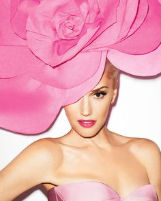 Gwen Stefani, Photographed by Terry Richardson, Harper's Bazaar - September 2012