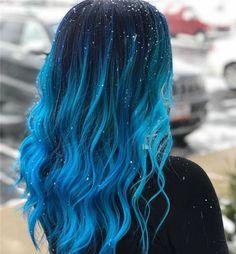Amzing Hair Colors & Ideas for Women 2019 Ombre Hair blue ombre hair Cute Hair Colors, Hair Dye Colors, Ombre Hair Color, Cool Hair Color, Black Blue Ombre Hair, Hair Colour Ideas, Blonde Ombre, Blue Hair Colour, Weird Hair Colors