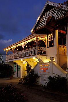 Gingerbread restaurant, Bequia