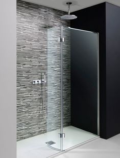 From The Shower Experts Comes The Crosswater Design Easy Access WalkIn Shower. A Stylish Walk In Shower with Easy Clean Glass & A Lifetime Guarantee. Grab Bars In Bathroom, Small Bathroom With Shower, Modern Bathroom, Small Bathrooms, Bathroom Ideas, Shower Niche, Frameless Shower, Bathroom Showers, Bathroom Makeovers