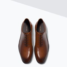 ZARA - MAN - ONE-PIECE LEATHER SHOES
