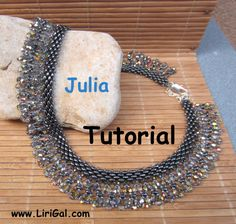 Julia SuperDuo Beadwork Necklace PDF Tutorial