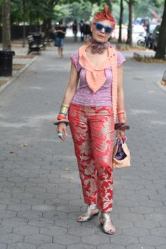 ADVANCED STYLE: Think Pink
