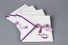 Lila szalagos esküvői meghívó - purple wedding invitations Purple Wedding Invitations, Wedding Invitation Cards, Gift Wrapping, Gifts, Weddings, Gift Wrapping Paper, Presents, Lilac Wedding Invitations, Wrapping Gifts