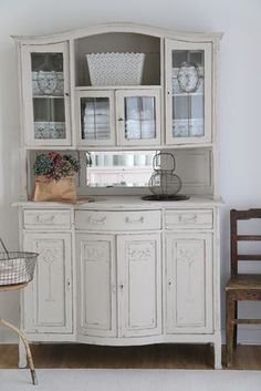 Buffet, shabby chic, kitchen cabinet