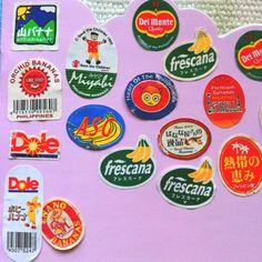 Philippine banana sticker Graphic Design Typography, Graphic Design Illustration, Graphic Prints, Badge Design, Logo Design, Banana Sticker, Typo Poster, Food Branding, Stickers