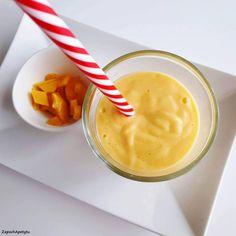 Mango lassi #zapachapetytu #mango #mangolassi Mango Lassi, Pudding, Breakfast, Desserts, Food, Morning Coffee, Tailgate Desserts, Deserts, Custard Pudding
