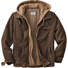 Men's Rugged 2-in-1 Full Zip Dakota Jacket   Legendary Whitetails