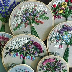 Elizabethan Embroidery Patterns versus Embroidery Designs Nurse near Embroidery Machine Patches outside Embroidery Stitches Japanese across Embroidery Hoop Hobby Lobby Embroidery Designs, Learn Embroidery, Hand Embroidery Stitches, Silk Ribbon Embroidery, Embroidery Hoop Art, Embroidery Techniques, Cross Stitch Embroidery, Embroidery Digitizing, Embroidery Needles