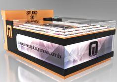Cell Phone Store, Showroom Interior Design, Balloon Shop, Kiosk Design, Displays, Ronaldo, Shopping, Kiosk, Ideas