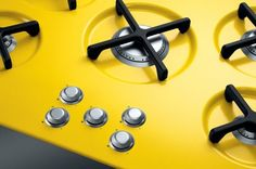 colorful cooktop