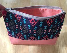 Small Zipper pouch/ make up bag