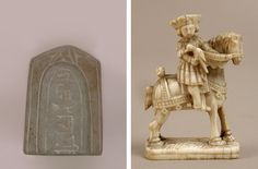 eft: Chess piece, pawn, 9th–11th century. Western Islamic Lands. Stone. The Metropolitan Museum of Art, New York, 1972 (1972.119.12). Right: Chess Piece in the Form of a Knight, ca. 1500. Netherlandish. Elephant ivory. The Metropolitan Museum of Art, New York, 1984