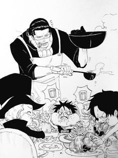 Aww father and son bond 💗💗💗 One Piece Anime, One Piece Comic, One Piece Fanart, One Piece Pictures, One Piece Images, Ace Sabo Luffy, One Piece Funny, One Piece Drawing, One Piece Ship