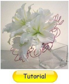 Learn how to make wedding bouquets, corsages, boutonnieres, centerpieces, and church florals. Buy wholesale flowers and discount florist supplies.