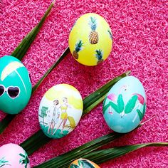 Melodrama - Tropical Vacay Easter eggs