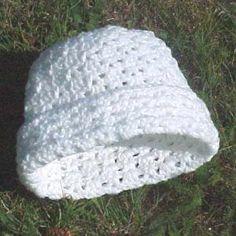 Crochet Rolled hat- Easy