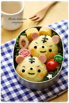 Mai Hara's Creations on Tokyo Otaku Mode Cute Bento Boxes, Bento Box Lunch, Lunch Boxes, Japanese Food Art, Japanese Sweets, Kawaii Cooking, Kawaii Bento, Bento Recipes, Bento Ideas