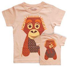 T-Shirt «ORANG-UTAN» von Mibo from weloveyoulove