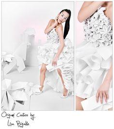 Origami Dress by ~Fraeggle on deviantART