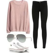 Image result for spring outfits with white converse