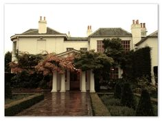 Pembroke Lodge, Richmond Park - where we had our wedding reception