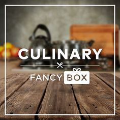 The Culinary Fancy Box delivers a monthly box of the best home goods, hand-picked by Fancy curators. Get $80 worth of Fancy goodies every month!  http://www.findsubscriptionboxes.com/box/culinary-fancy-box/