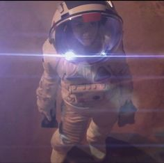 "Rosie Scott (Rosie Jones) on the Martian Surface in the 2012 short movie ""We Are One"""