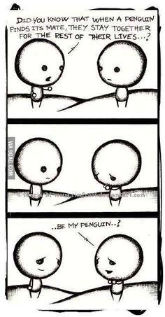 Be my penguin? :3