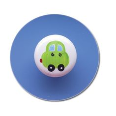Make drawer pulls or coat pegs for Henry's room at the pottery place - paint cute little cars.