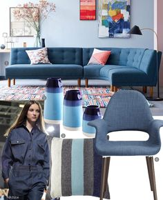 The denim-on-denim #trend is coming back #Spring2015! Get #inspired!