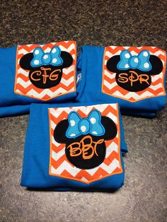 Minnie Mouse Mickey shirts custom for your by southernfriedstiches, $18.00