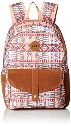 ab098a1da1ab Roxy Womens Caribbean Poly Backpack Sunset BaySea Spray    Visit the image  link for more details.