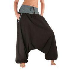 WUNDERSCHÖNE Pumphose mit TASCHEN Pluderhose Goa Haremshose Shalwar AFGHANIHOSE in Kleidung & Accessoires, Damenmode, Hosen | eBay