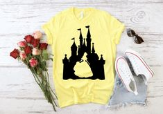 Disney World Shirts, Disney Shirts For Family, Family Shirts, Matching Disney Shirts, Colorful Shirts, Etsy Shop, How To Wear, Clothes, Women