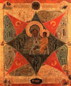"""L'icona della Madre di Dio detta """"Roveto ardente"""""""