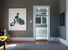 inspiration :: rooms of gray Behr paint color Squirrel
