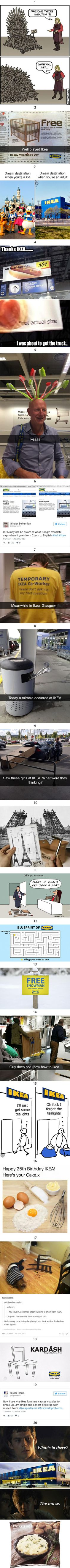 Ikea...