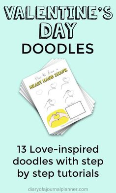 How to draw valentine's day doodles, valentine day doodles, valentine day doodles clip art, doodle tutorials, step by step love doodles. Happy Birthday Doodles, Valentines Day Doodles, Valentines Day Drawing, Bujo Doodles, Cool Doodles, Simple Doodles, Bullet Journal Themes, Bullet Journal Art, Bullet Art