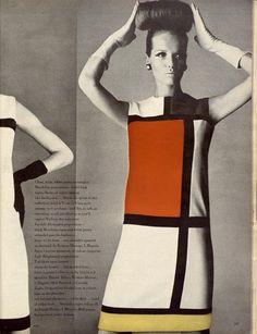 Vogue Magazine 1965   (model Veruschka, photo by Irving Penn)