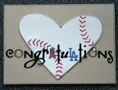 When an Angels Fan Proposes to a Dodgers Fan. Baseball Engagement Card