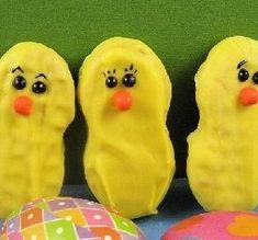 Nutter Butter Easter Chicks