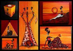 """Mes tableaux et créations """"Rasta"""""""