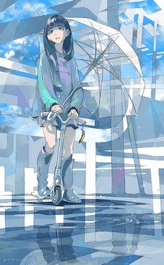 Ideas for anime art wallpaper illustration Girls Anime, Anime Art Girl, Art Manga, Manga Anime, Art And Illustration, Anime Style, Art Anime Fille, Graphisches Design, Image Manga