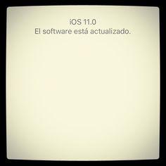 Todos los dispositivos actualizados! Buenas sensaciones  de momento  Me encanta cuando haces una captura de pantalla  #iOS11 #iphone